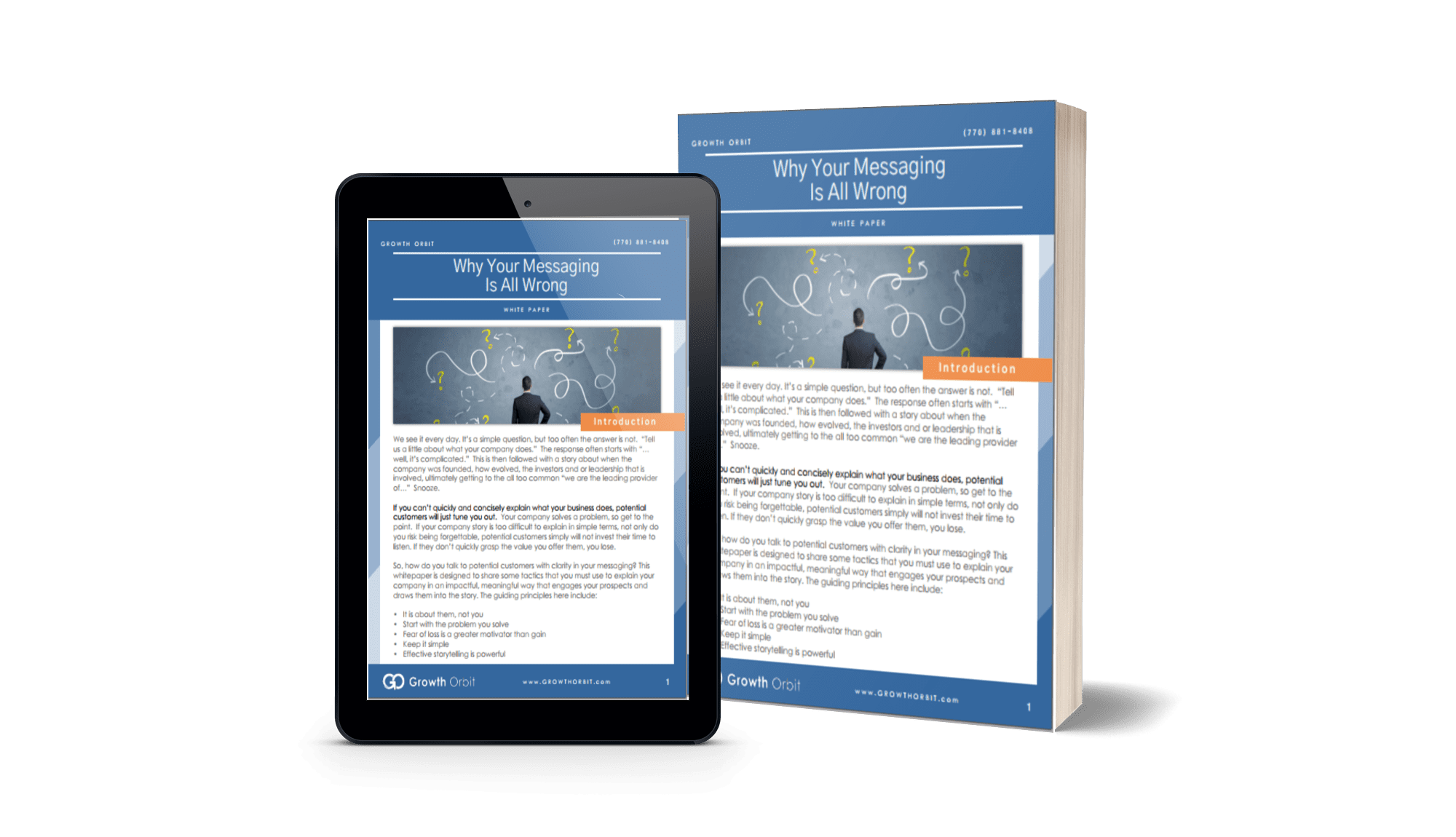 Why Your Messaging is All Wrong White Paper by Growth Orbit