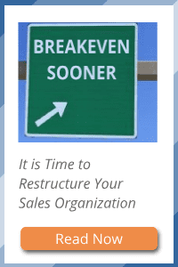 time to restructure your sales organization